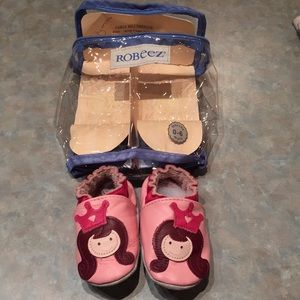 Robeez baby princess shoes
